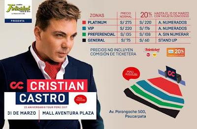 Cristian Castro en Arequipa