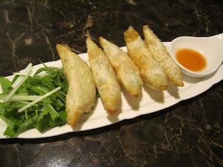 Towada Kushitomo Fried Avocado & Prosciutto 十和田市 串Tomo くしとも アボガドの生ハム揚げ