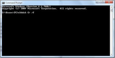 Mengubah Partisi Hardisk RAW Menjadi NTFS Tanpa Format