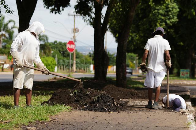 Detentos reforçam time do SOS DF em Ceilândia