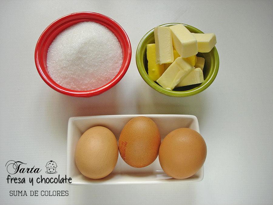 Tarta-fresa-chocolate-Ingredientes-crema-merengue-suizo