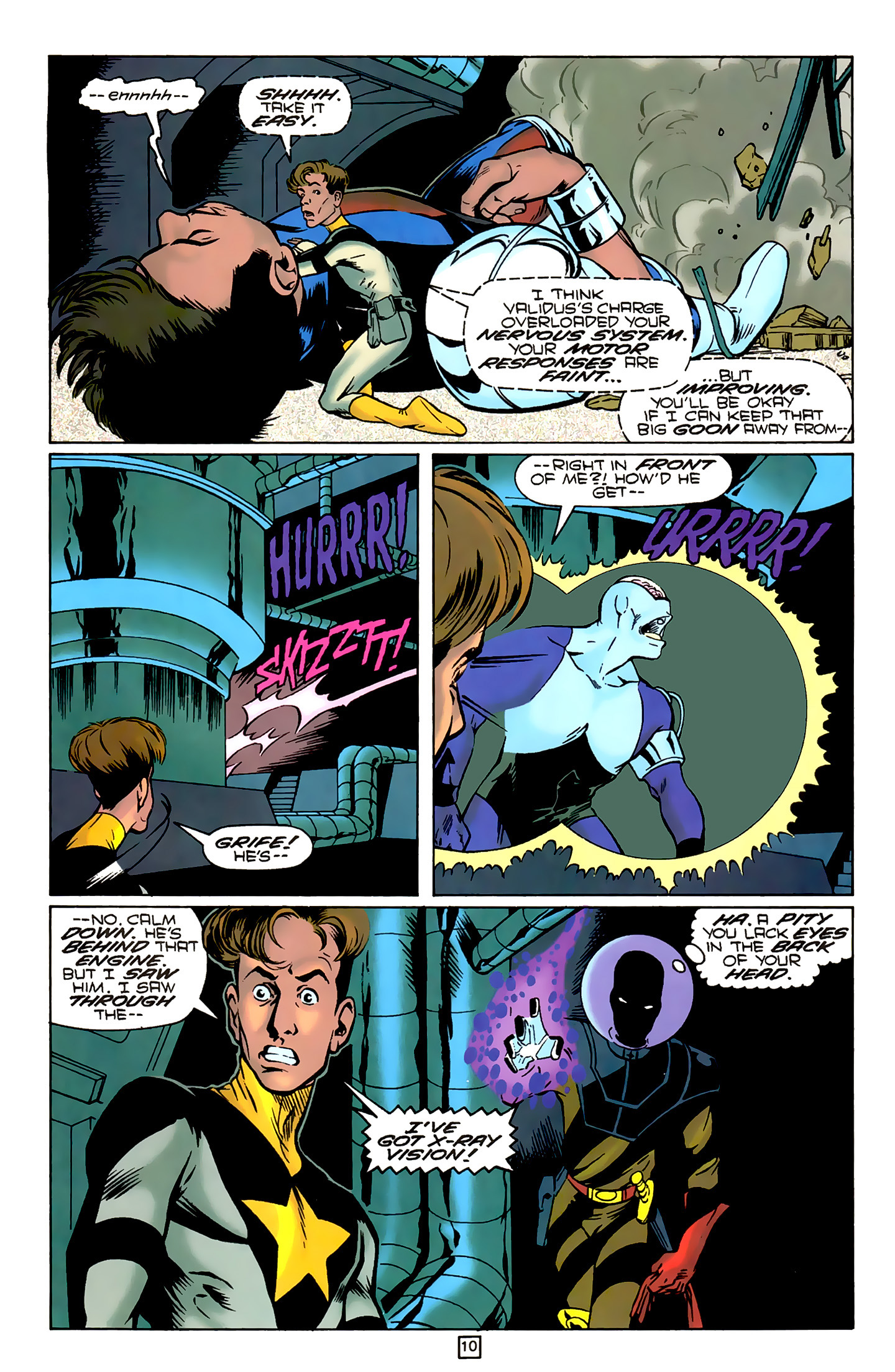 Legion of Super-Heroes (1989) 79 Page 9