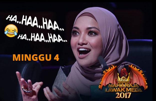 Tonton Video Persembahan Maharaja Raja Lawak Mega 2017 Minggu 4