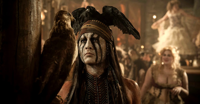 Johnny Depp In The Lone Ranger 2013