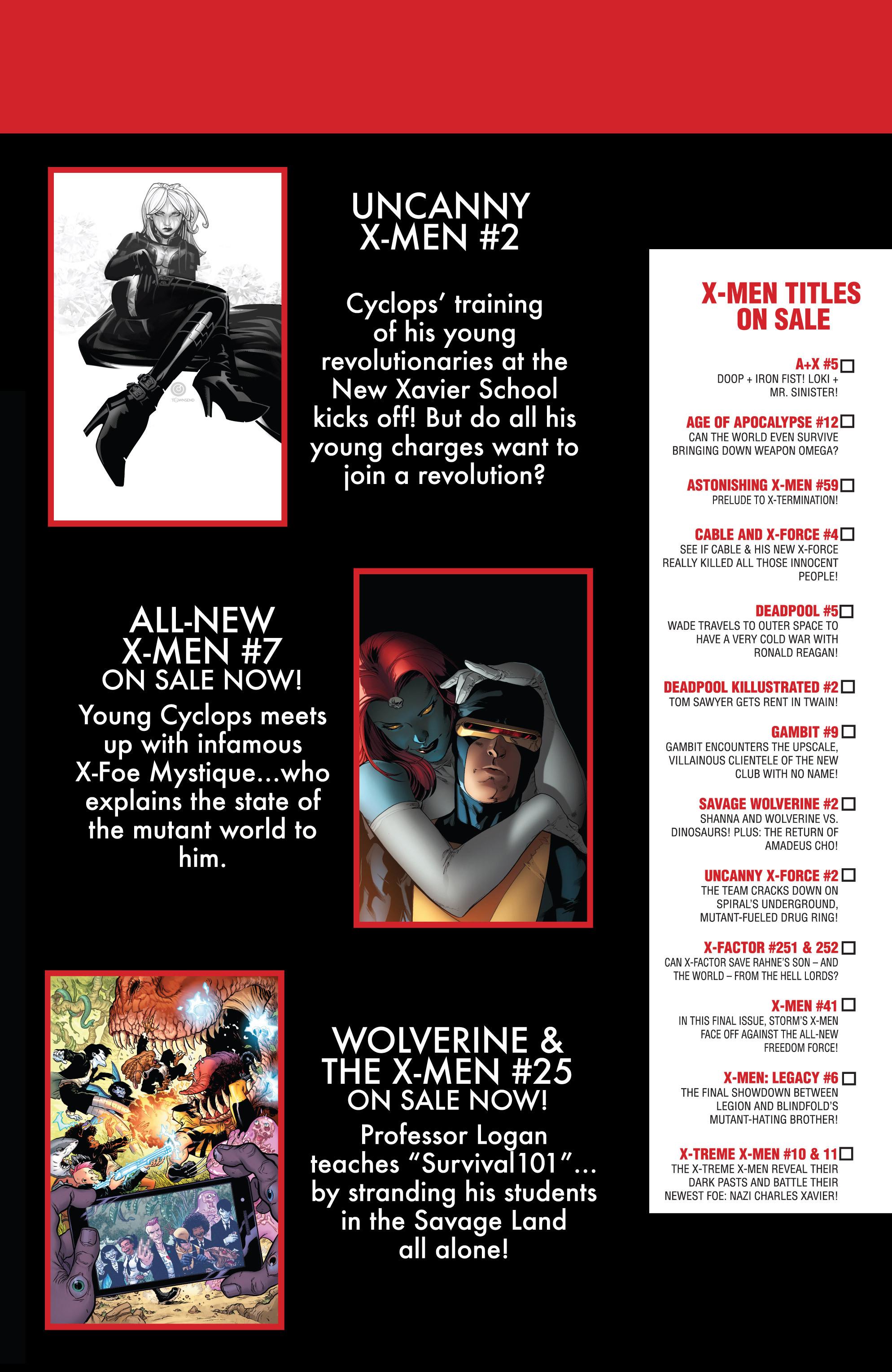 Read online Uncanny X-Men (2013) comic -  Issue # _TPB 1 - Revolution - 24