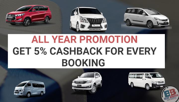 Promosi Menarik Sewa Kereta di Sabah - Best Borneo Car Rental