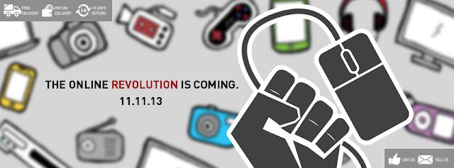 Online Revolution by Lazada
