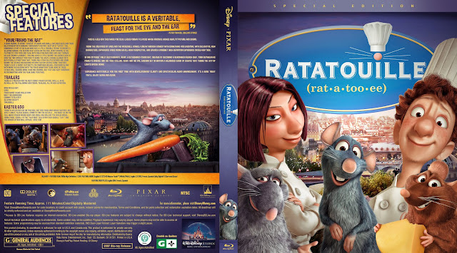 Ratatouille Bluray Cover