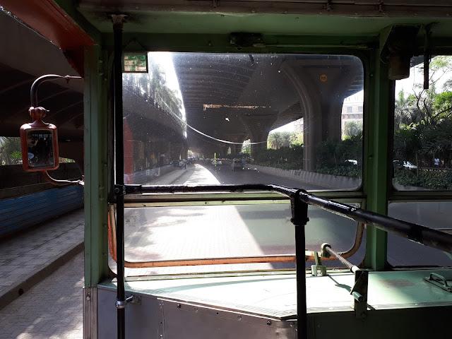 Dans le bus pour Andheri Station