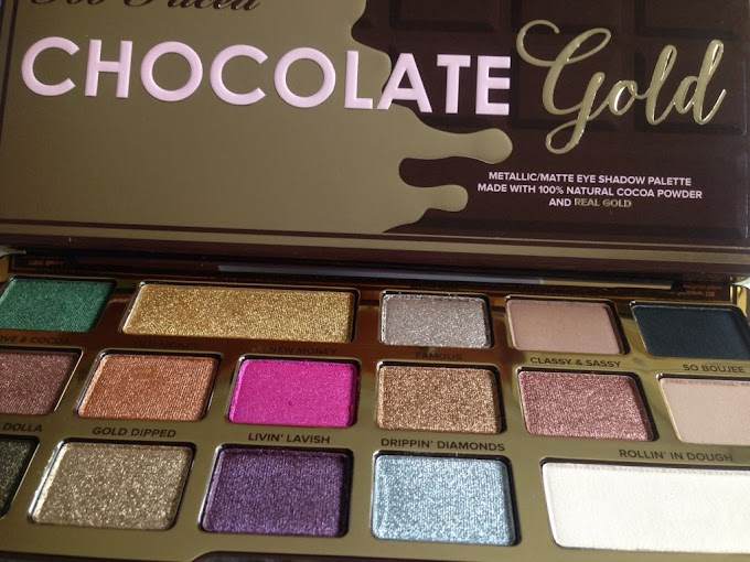 "Tus ojos de ""Chocolate""  con Too Faced"