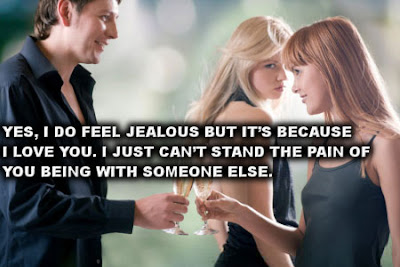 Jealousy in relationship