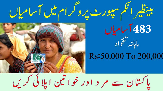483+Vacancy BISP Jobs 2020 Benazir Income Support Programme