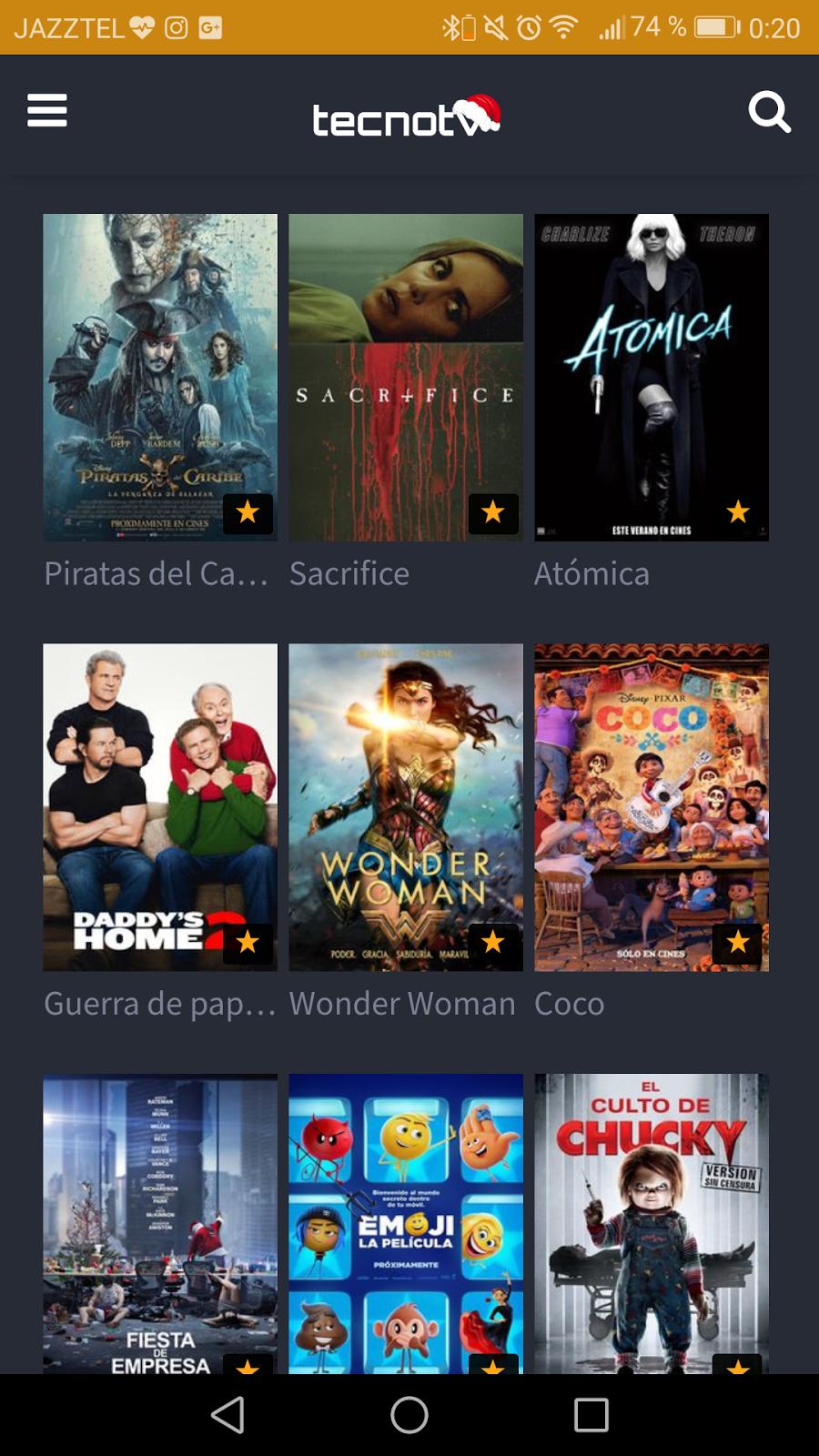 Nueva APP ver canales de TV - Peliculas en android GRATIS