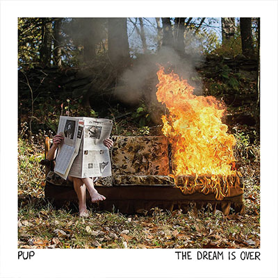 The 10 Best Album Cover Artworks of 2016: 10. PUP - The Dream Is Over