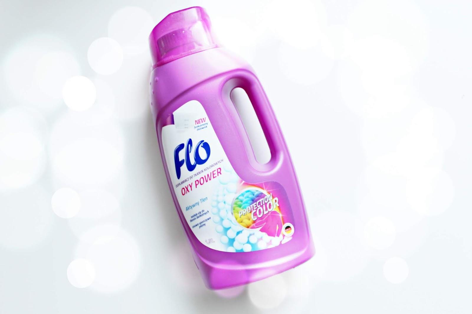 odplamiacz do tkanin kolorowych - FLO Oxy Power