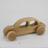 LFC23, Family Car, Lotes Toys Wooden Car