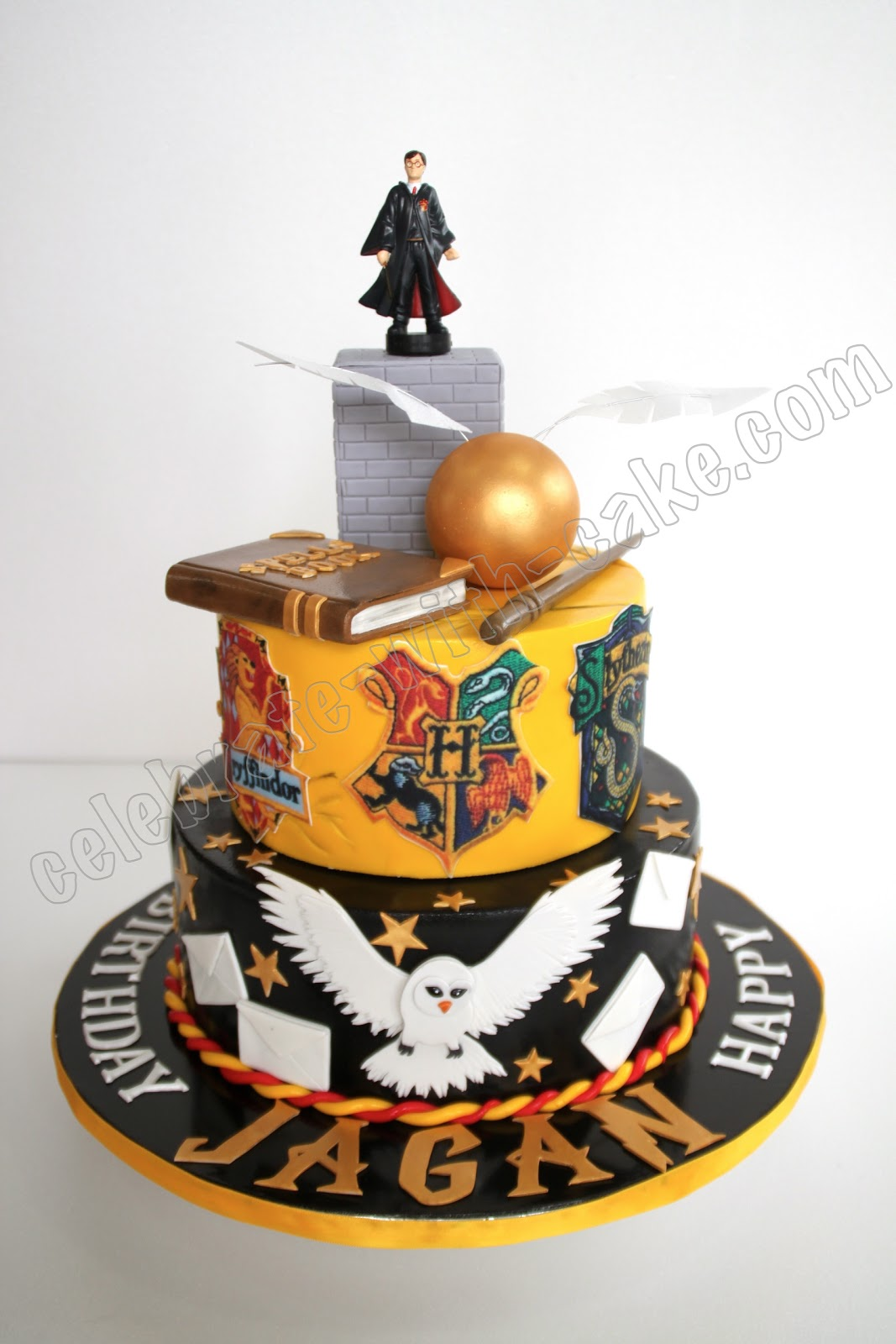 Harry Potter Two Tier Cake