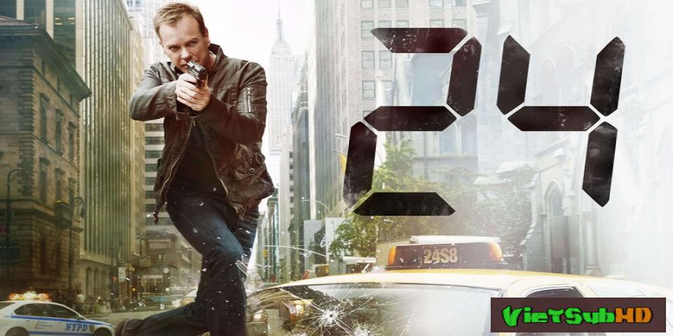 Phim 24 giờ sinh tử (24 giờ chống khủng bố) - Phần 8 Trailer VietSub HD | 24 (Season 8) 2010
