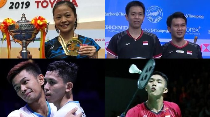 Juara BWF World Tour Super 300 Tahun 2019