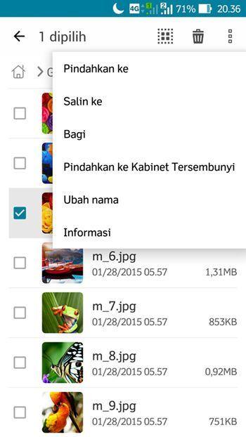 Cara Menyembunyikan Foto di Smartphone Asus