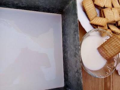 حلا طبقات البسكويت البارد سهل ولذيذ