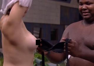 Desinibida, Ana Paula faz topless e mostra tudo para quem estava assistindo o BBB