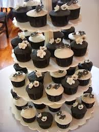 Cupcakes Blanco y Negro, parte 1