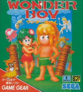 Portada videojuego Wonder Boy