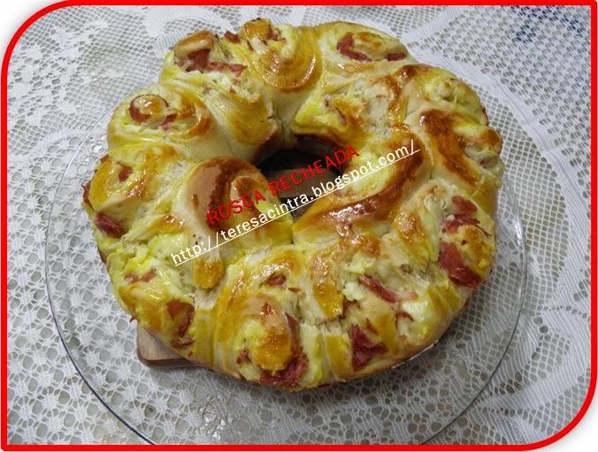 pão caseiro; rosca; pão