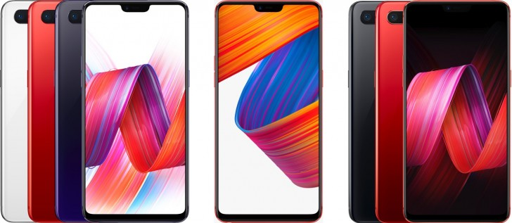 Oppo R15 and R15 Dream Mirror Edition announced with OLED and notch display
