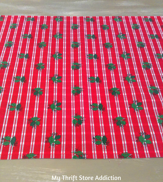 handmade Christmas table runner