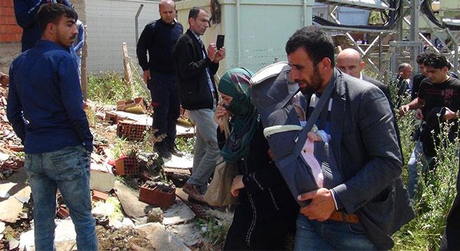 Suriyeli baba Çınar'da 4 aylık bebeğiyle intihara kalkıştı