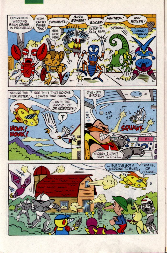 Read online Sonic The Hedgehog comic -  Issue #18 - 10
