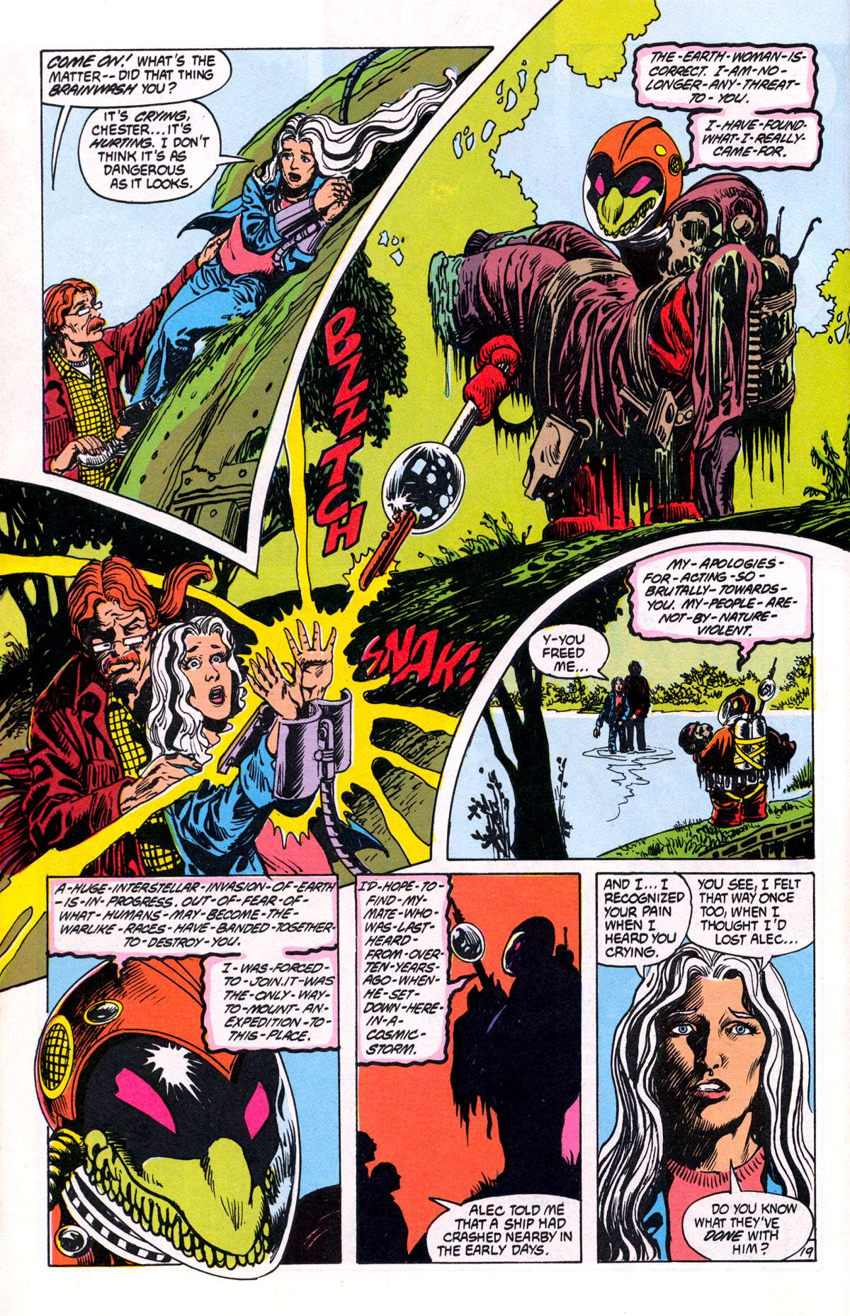 Swamp Thing (1982) Issue #81 #89 - English 20