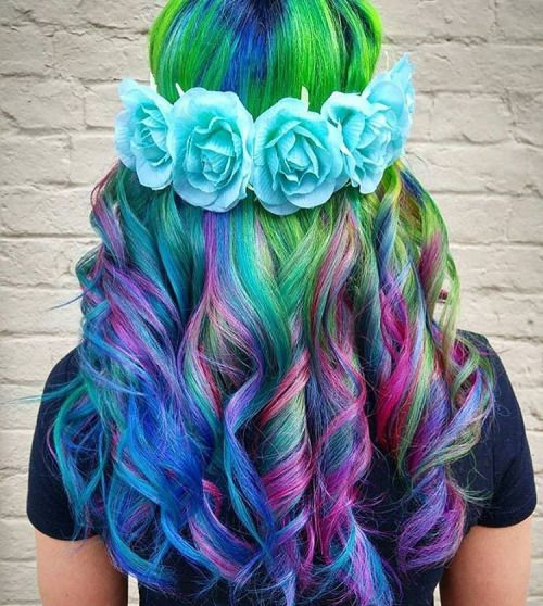 5 Moments That Basically Sum Up Your Colorful Hairstyles Experience ...