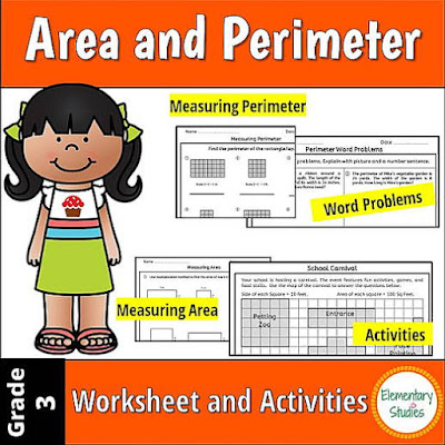 Area and Perimeter Definition, Worksheets and Activities