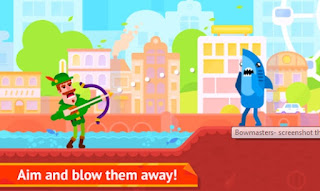 Bowmasters Miniclip MOD APK 2018