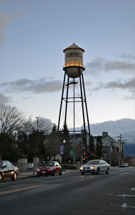 Downtown Campbell Blog History Of Campbell S Water Tower