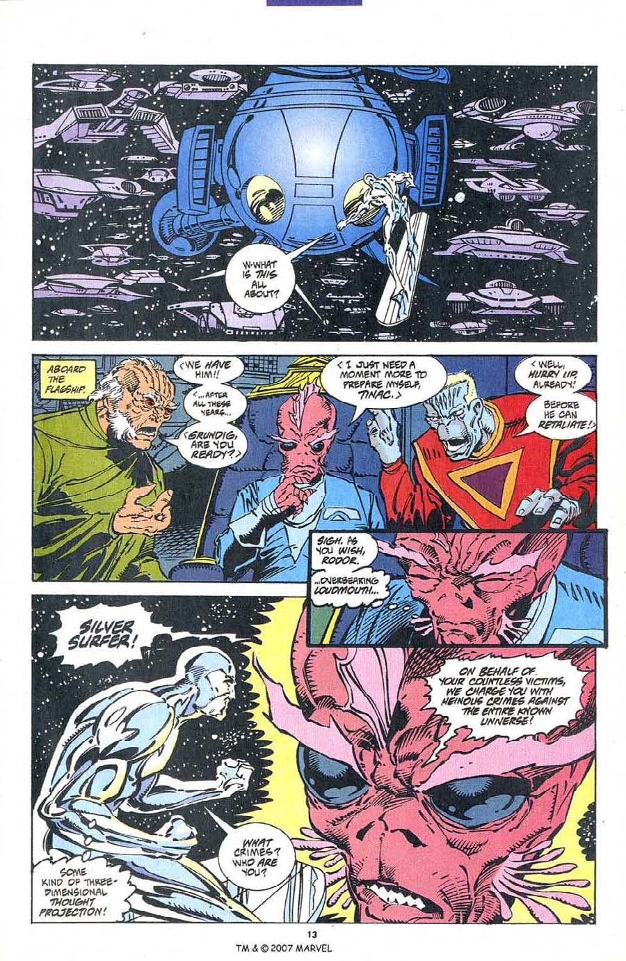 Silver Surfer (1987) Issue #103 #111 - English 15