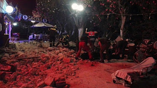 τα θύματα του σεισμού στην Κω