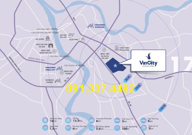VinCity Ocean Park Gia Lâm chung cư biệt thự liền kề shophouse