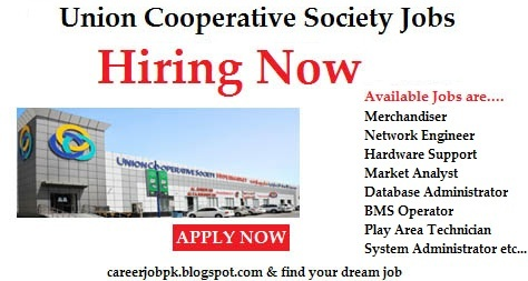 Jobs in Union Cooperative Society Dubai