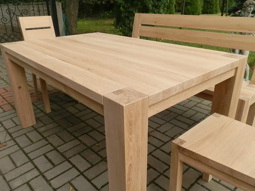 Duży Drewniany Stół Wnętrza Zewnętrza Blog Wnętrzarski