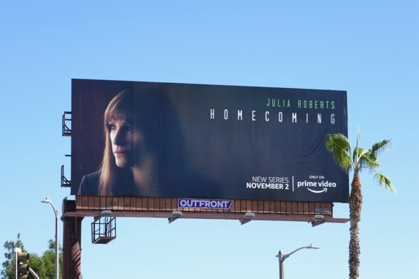 Homecoming series launch billboard