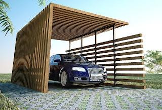 4 Cara Buat Carport Rumah Cantik dan Fungsional
