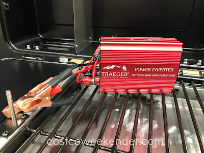 Traeger Scout Grill power inverter