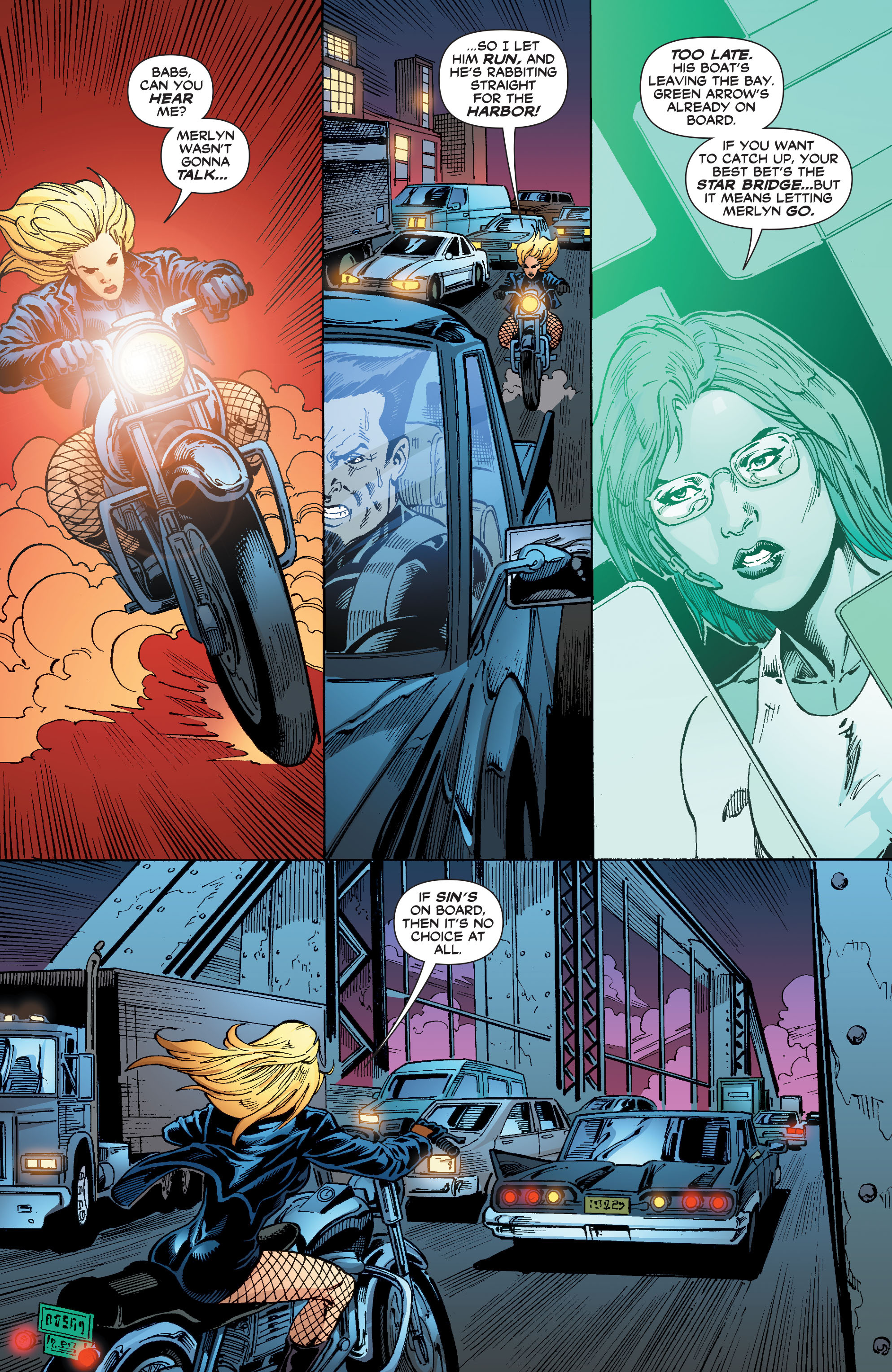 Read online Black Canary (2007) comic -  Issue #3 - 20