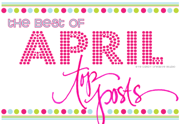 the best of april blog posts, emoji party, hand lettering, party decor