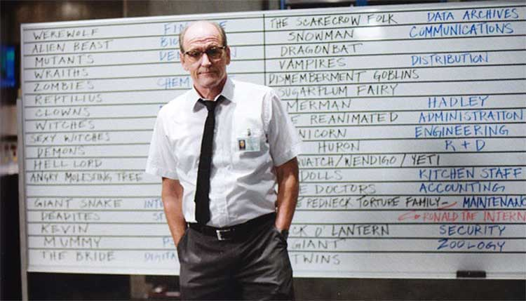 Richard Jenkins in Cabin in the Woods