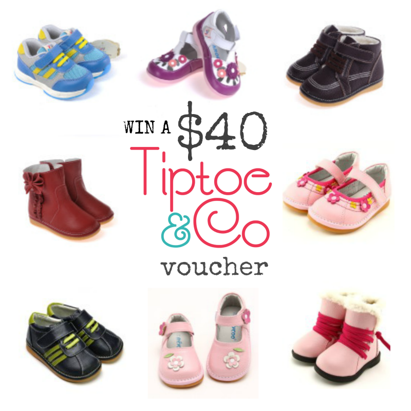 Win a $40 Tiptoe and Co voucher
